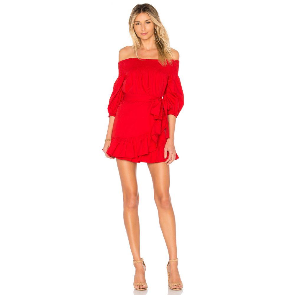 トゥラロサ Tularosa レディース ワンピース ワンピース・ドレス【Maida Ruffle Dress】Poppy