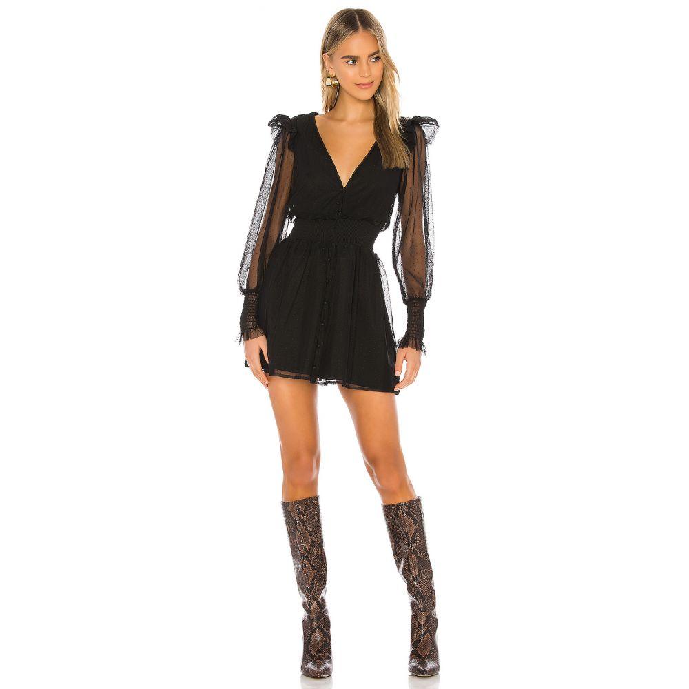 トゥラロサ Tularosa レディース ワンピース ワンピース・ドレス【Saachi Dress】Black