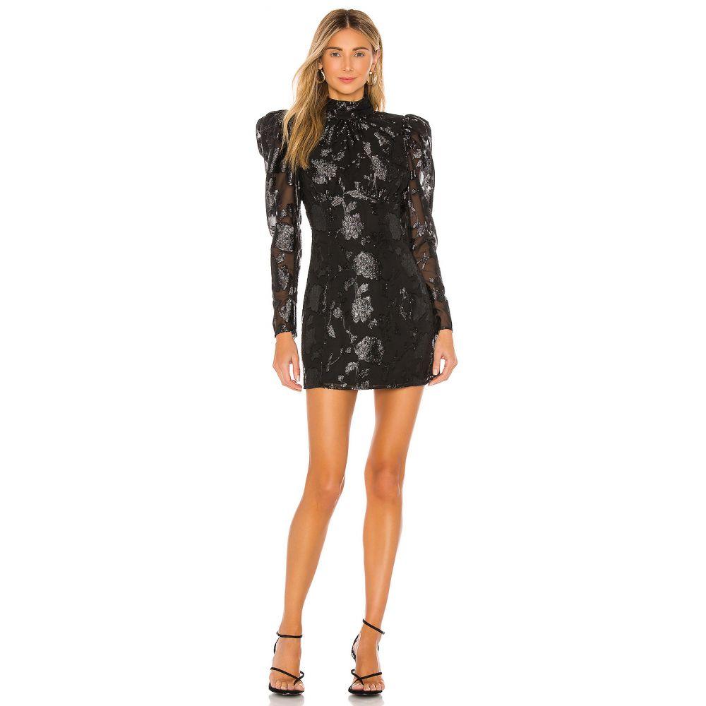 ハウスオブハーロウ1960 House of Harlow 1960 レディース ワンピース ミニ丈 ワンピース・ドレス【x REVOLVE Carlotta Mini Dress】Noir