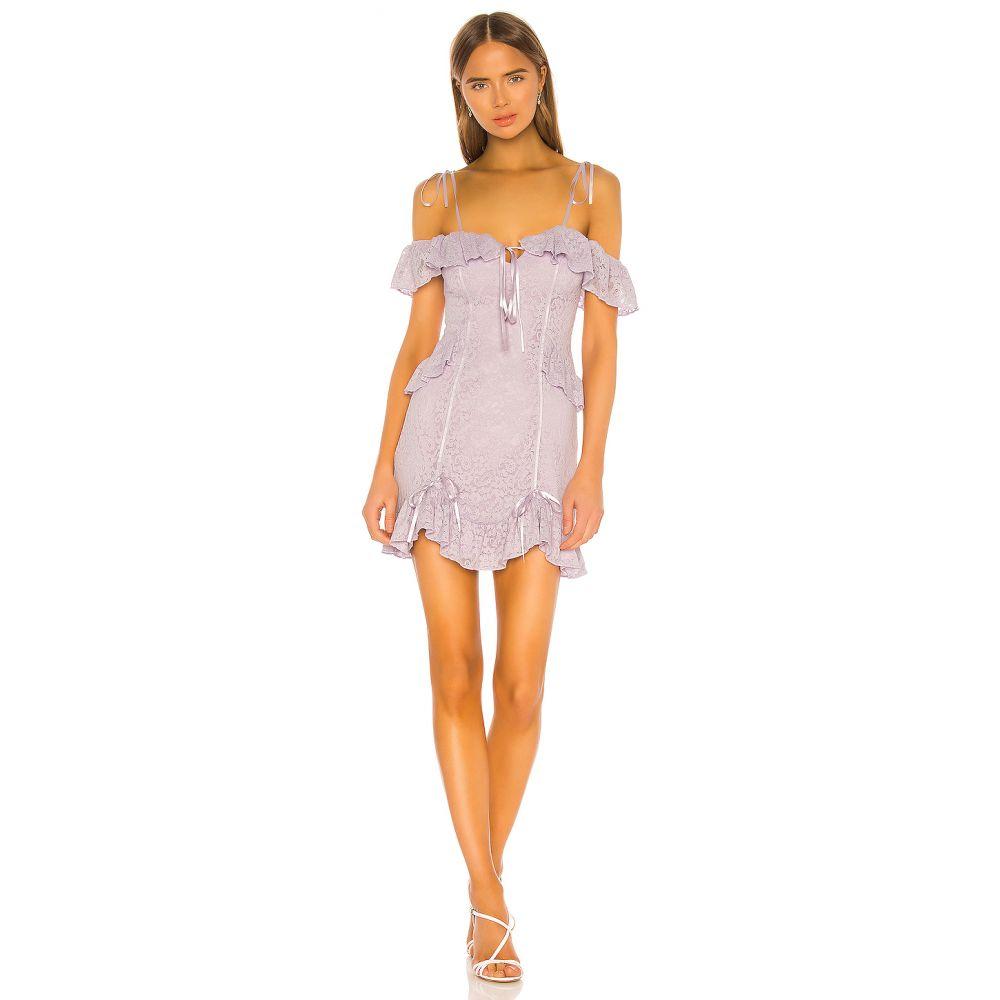マジョレル MAJORELLE レディース ワンピース ミニ丈 ワンピース・ドレス【Stanley Mini Dress】Purple Frost