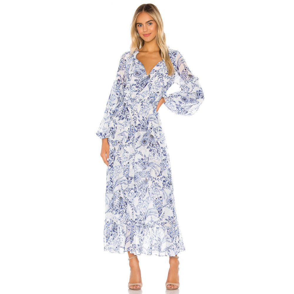 ミサロサンゼルス MISA Los Angeles レディース ワンピース ワンピース・ドレス【X REVOLVE Amata Dress】Peacock