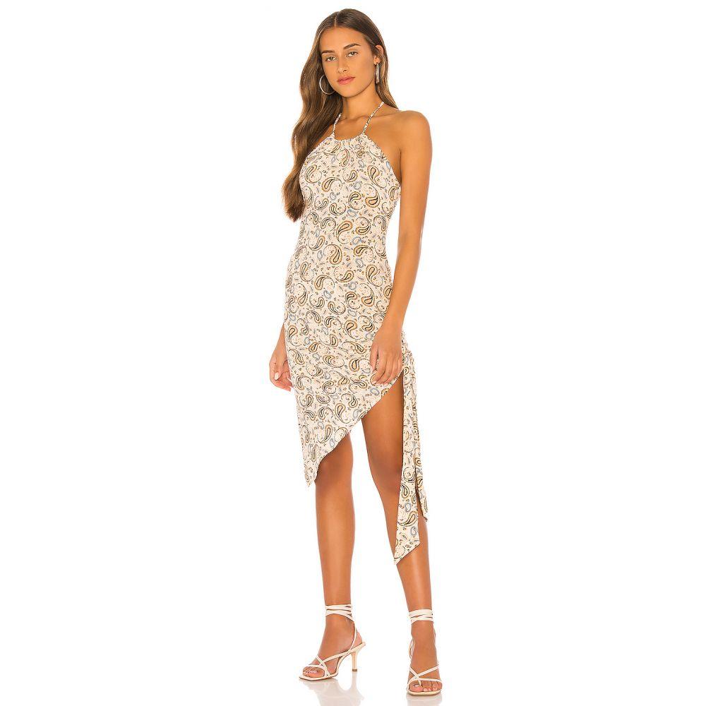 トゥラロサ Tularosa レディース ワンピース ミドル丈 ワンピース・ドレス【The Jade Midi Dress】Multi Paisley