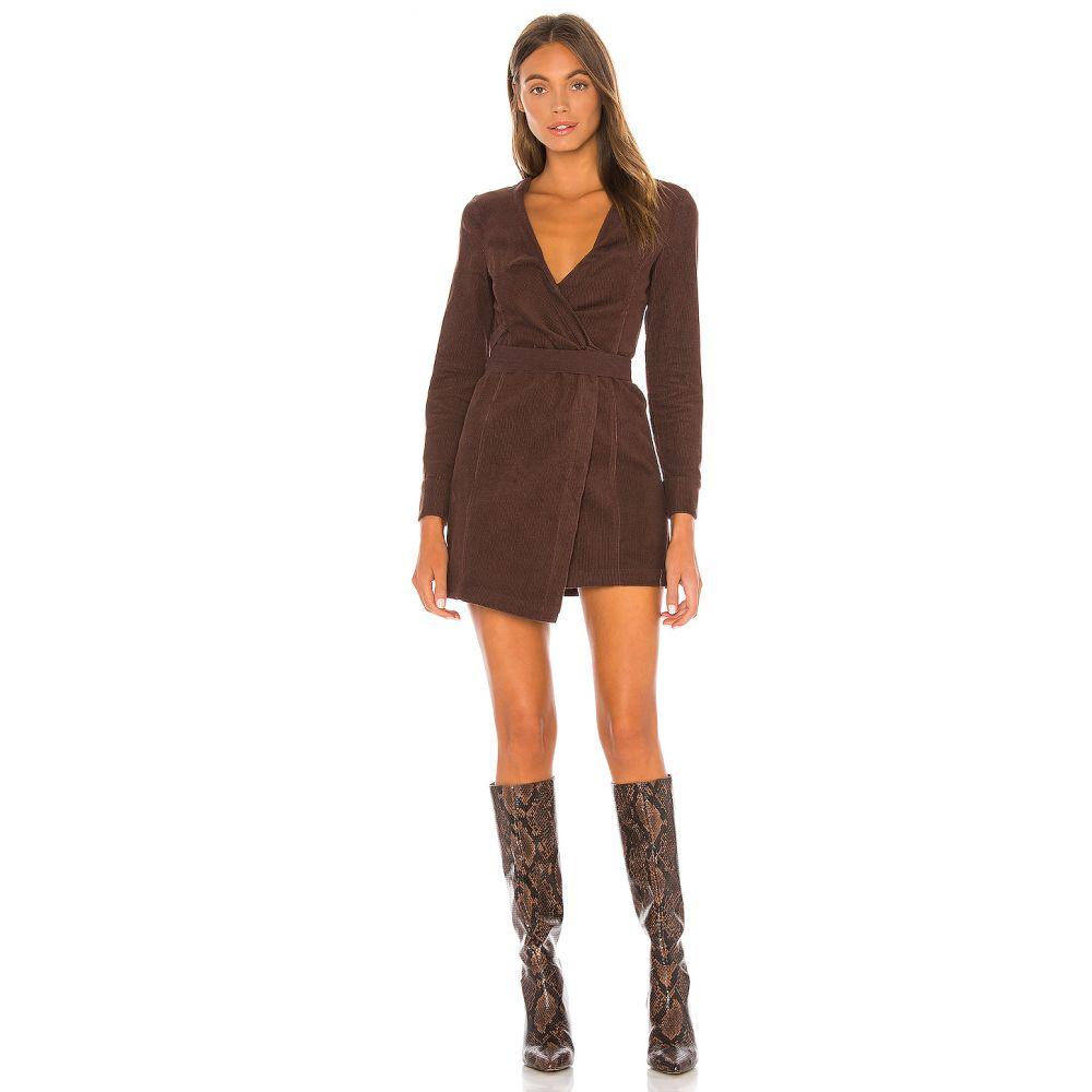 トゥラロサ Tularosa レディース ワンピース ミニ丈 ワンピース・ドレス【The Ila Mini Dress】Brown