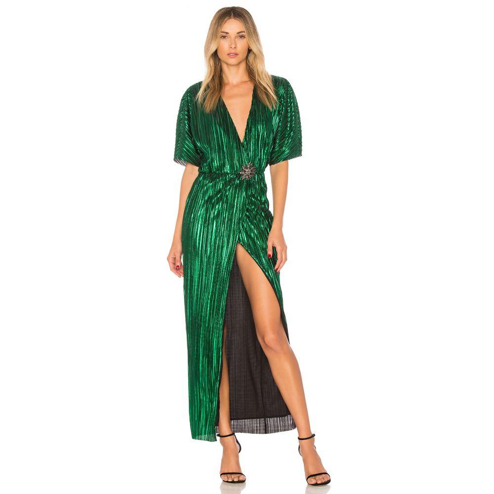 ハウスオブハーロウ1960 House of Harlow 1960 レディース ワンピース ワンピース・ドレス【x REVOLVE Sabrina Dress】Emerald