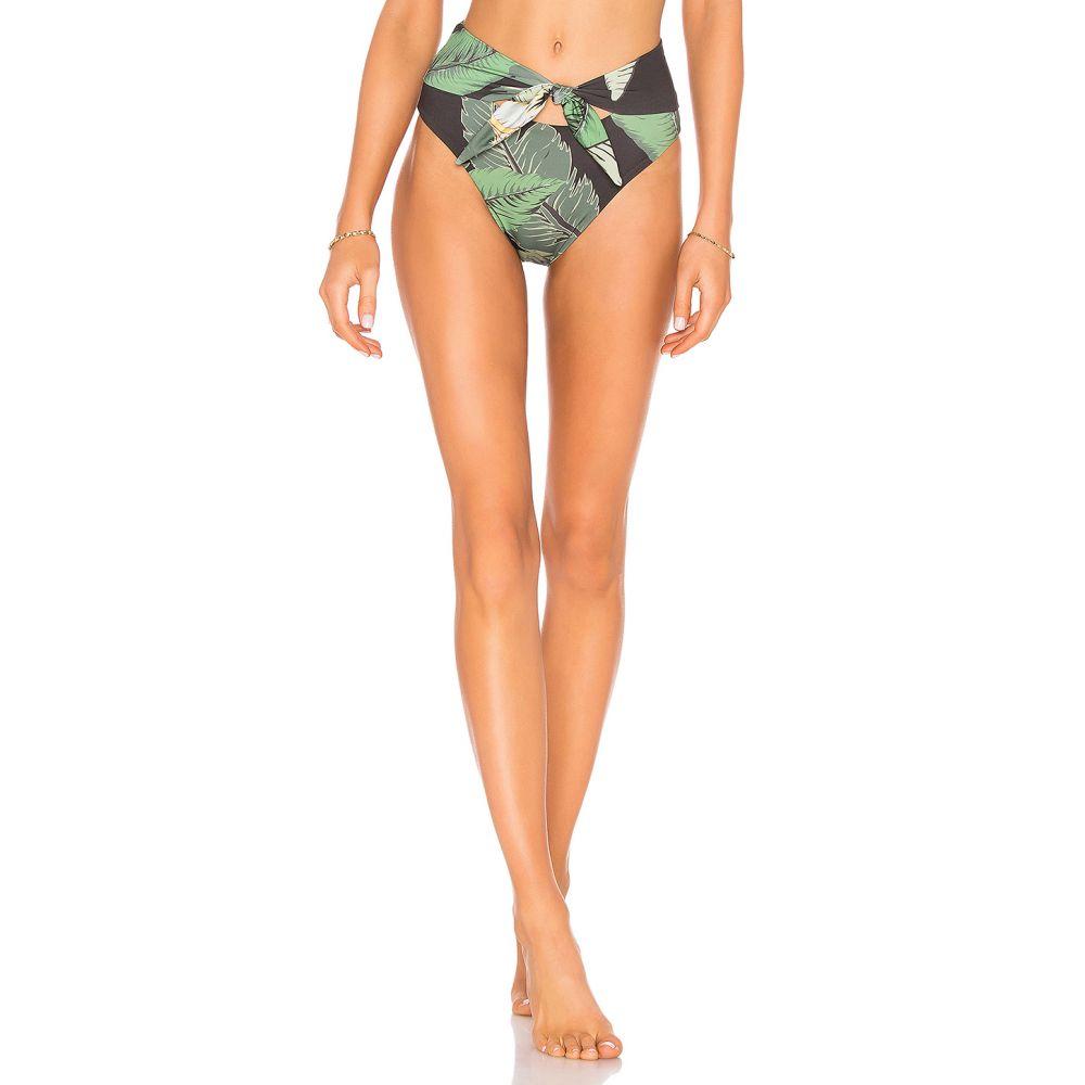 ビーチライオット レディース 水着・ビーチウェア ボトムのみ Black Palm 【サイズ交換無料】 ビーチライオット BEACH RIOT レディース ボトムのみ 水着・ビーチウェア【x REVOLVE Emma Bikini Bottom】Black Palm