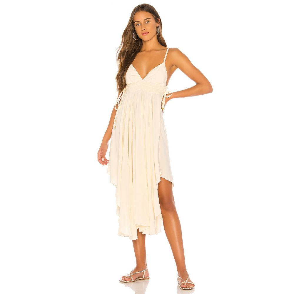 ピリキュー PILYQ レディース ビーチウェア ワンピース・ドレス 水着・ビーチウェア【Rowen Cover Up Dress】Water Lily