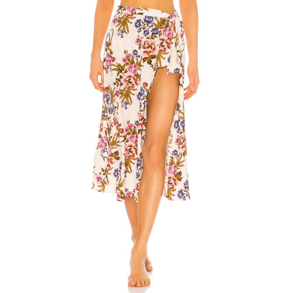 トリプレイバー Tori Praver Swimwear レディース ビーチウェア スカート 水着・ビーチウェア【Kayla Hollywood Floral Cover Up Skirt】Star