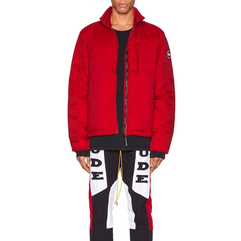 カナダグース Canada Goose メンズ ジャケット アウター【Lodge Jacket】Red