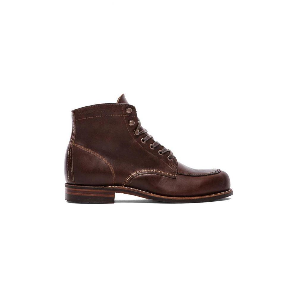 ウルヴァリン Wolverine メンズ ブーツ シューズ・靴【1000 Mile Courtland Boot】Brown