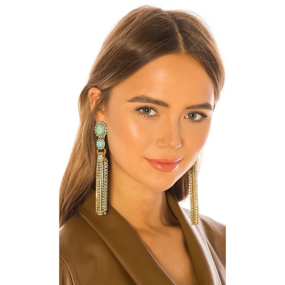 エリザベス コール Elizabeth Cole レディース イヤリング・ピアス ジュエリー・アクセサリー【Tina Earrings】Turquoise