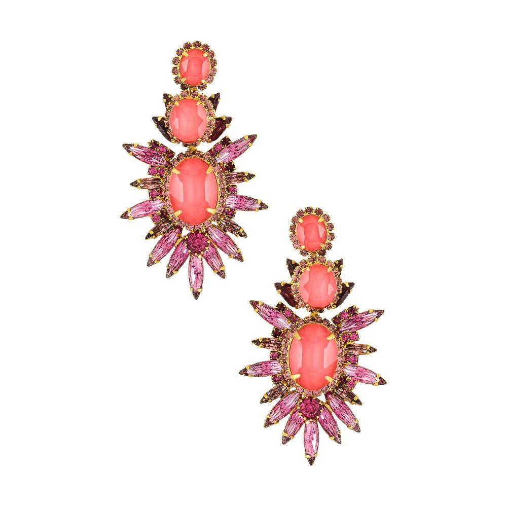 エリザベス コール Elizabeth Cole レディース イヤリング・ピアス ジュエリー・アクセサリー【Carmella Earrings】Pink