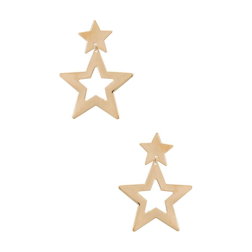 パラダイム Paradigm レディース イヤリング・ピアス ジュエリー・アクセサリー【Super Star Earrings】Gold
