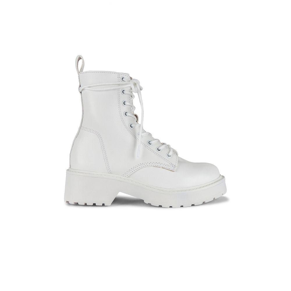 スティーブ マデン Steve Madden レディース ブーツ シューズ・靴【Tornado Boots】White Leather