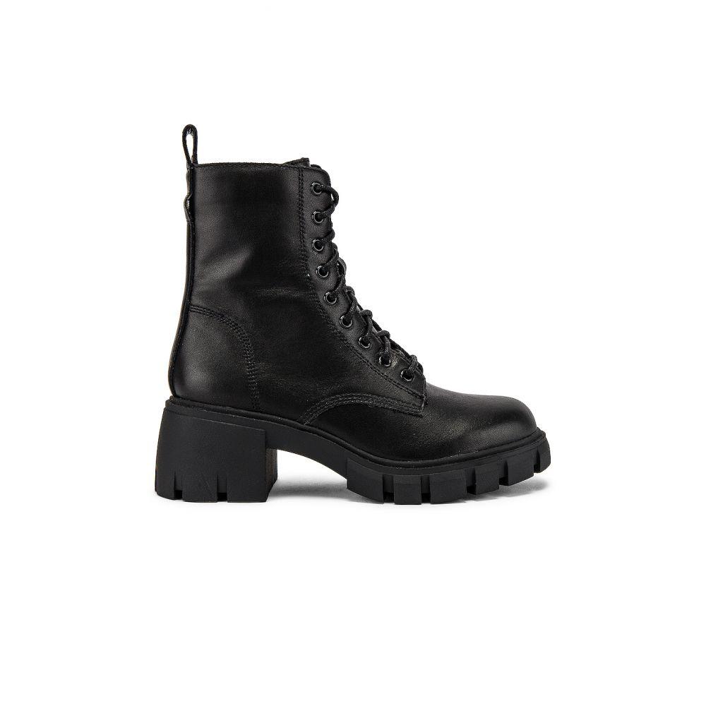 スティーブ マデン Steve Madden レディース ブーツ シューズ・靴【Hybrid Combat Boot】Black