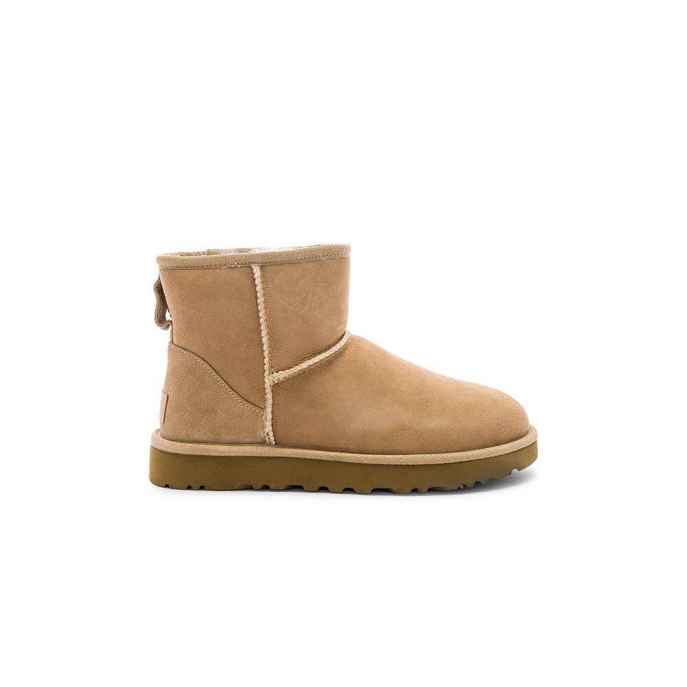 アグ UGG レディース ブーツ シューズ・靴【Classic Mini II Boot】Sand