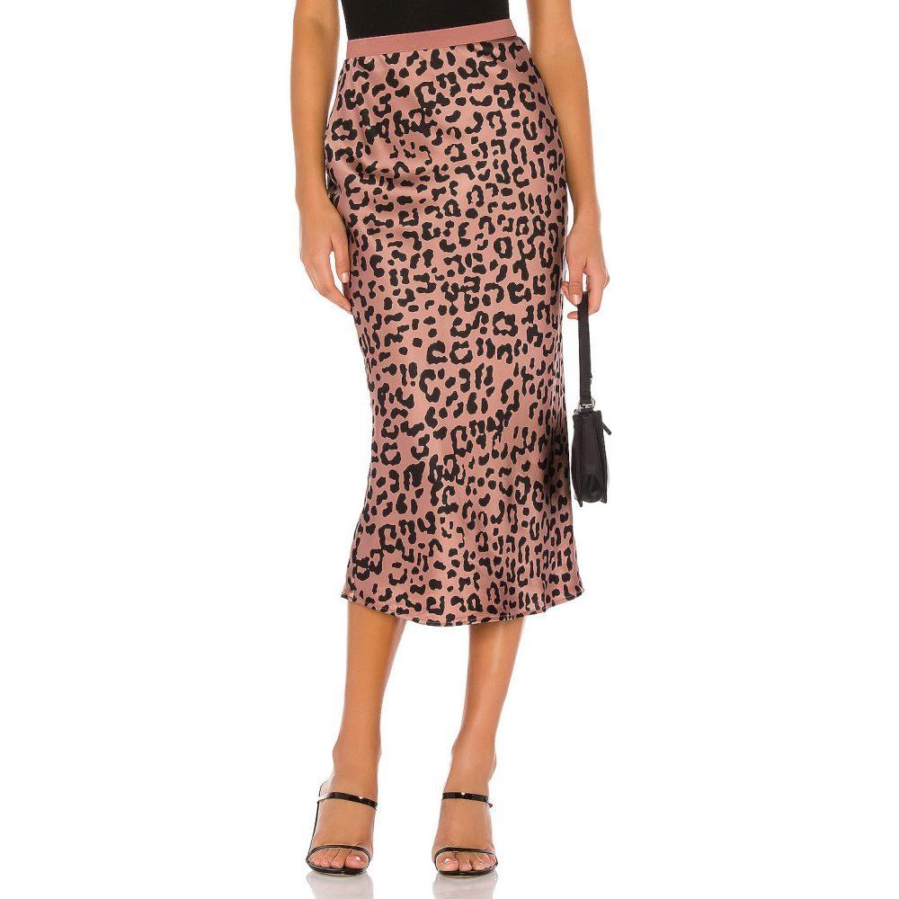 カミニューヨークシティー CAMI NYC レディース スカート 【The Jessica Skirt】Graphic Leopard
