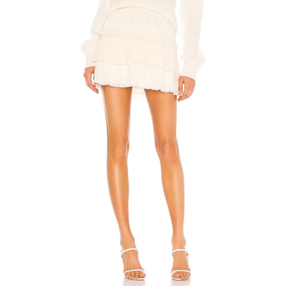 ハウスオブハーロウ1960 House of Harlow 1960 レディース スカート 【x REVOLVE Beni Skirt】Ivory