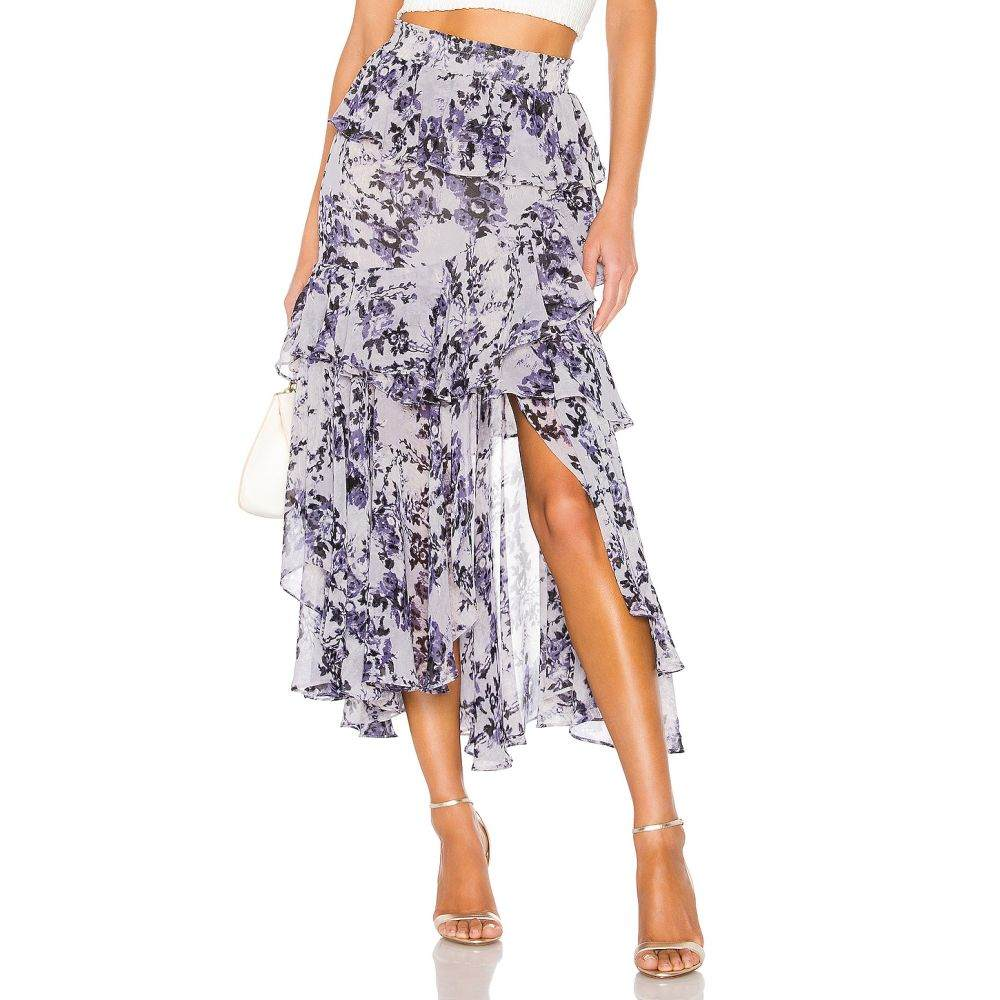 ミサロサンゼルス MISA Los Angeles レディース スカート 【X REVOLVE Joseva Skirt】Blue Multi Floral