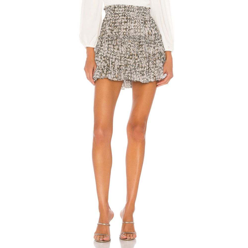 ミサロサンゼルス MISA Los Angeles レディース スカート 【Marion Skirt】Green Floral
