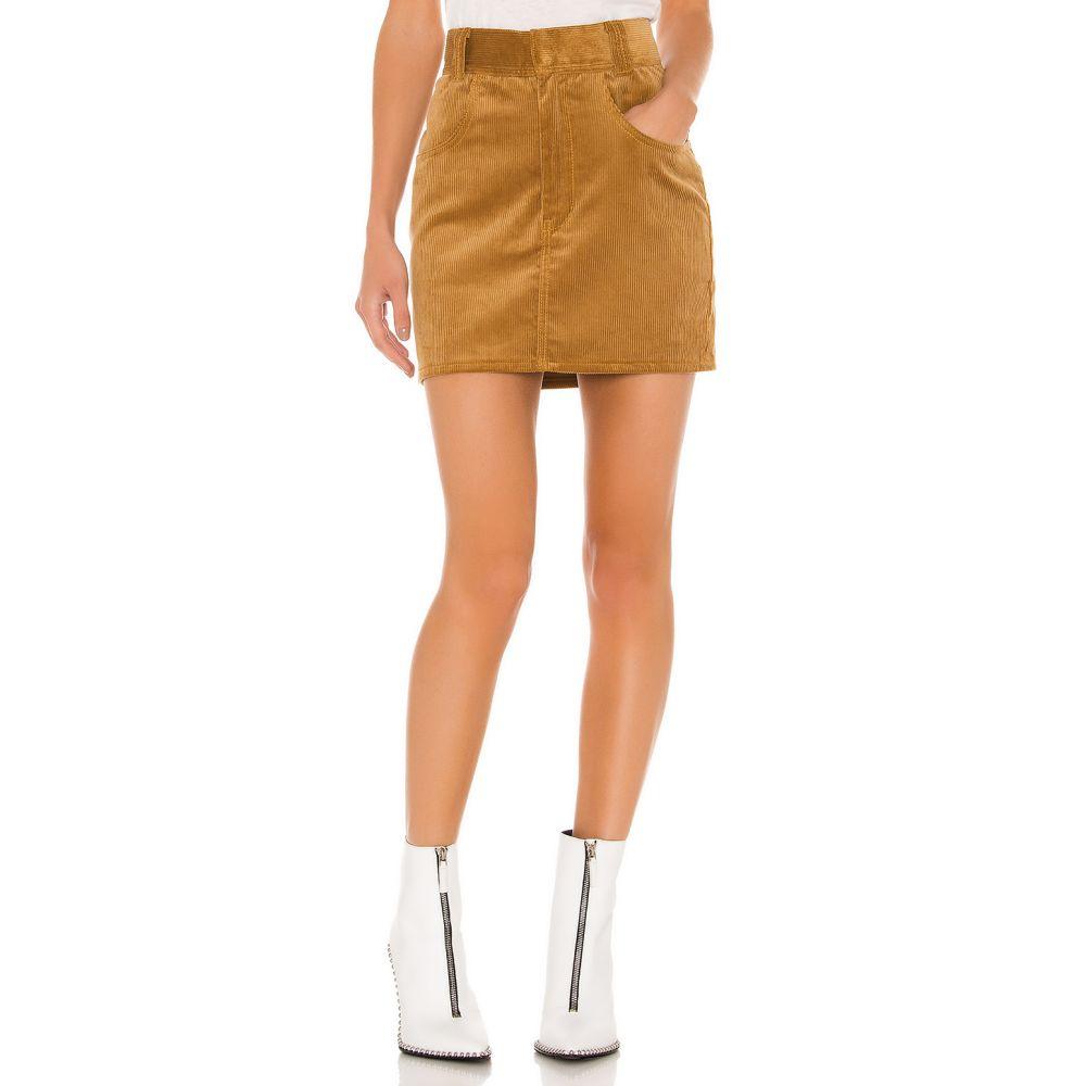 リダン RE/DONE レディース スカート 【90s Western Corduroy Skirt】Camel