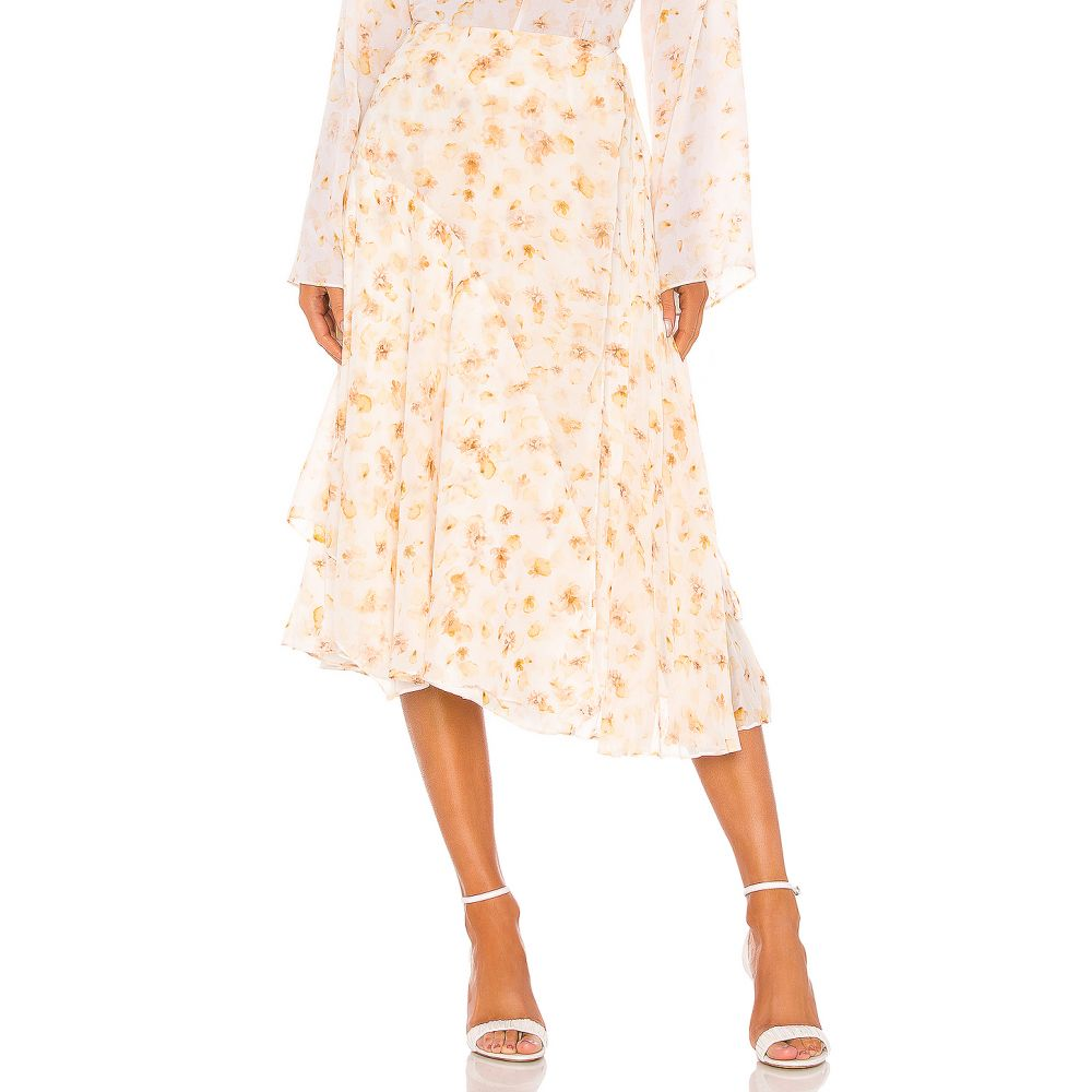 ヴィンス Vince レディース スカート 【Pressed Petal Panel Skirt】Off White
