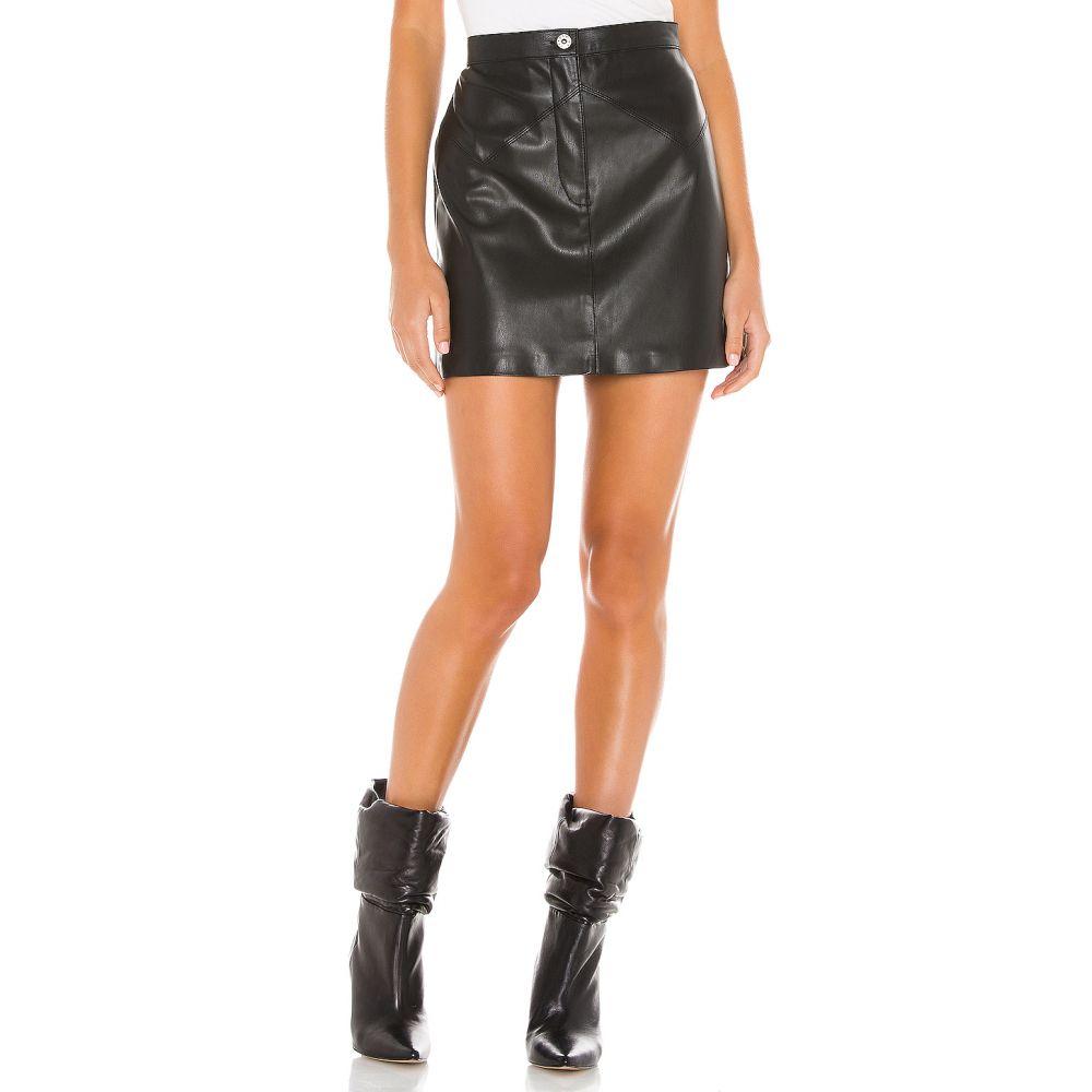 ビービーダコタ BB Dakota レディース ミニスカート スカート【Keep Livin Vegan Leather Mini Skirt】Black