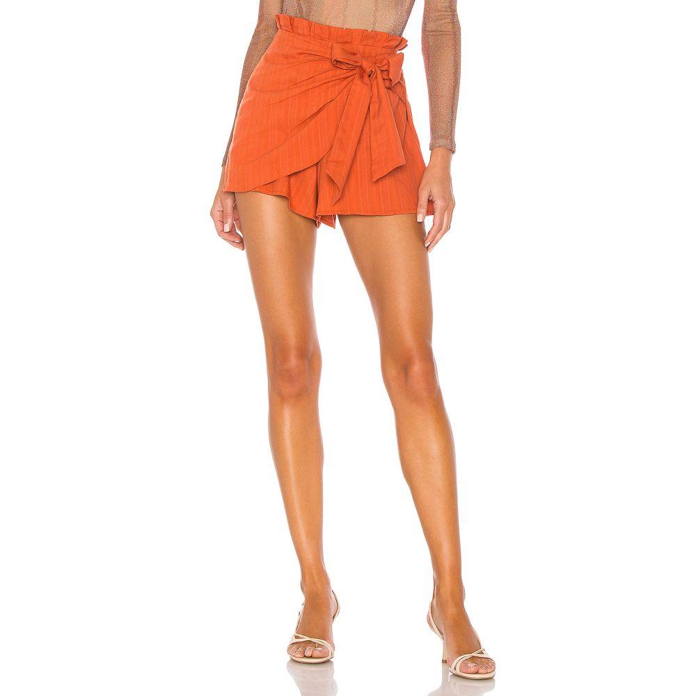 マジョレル MAJORELLE レディース ミニスカート スカート【Linette Skort】Rust Orange