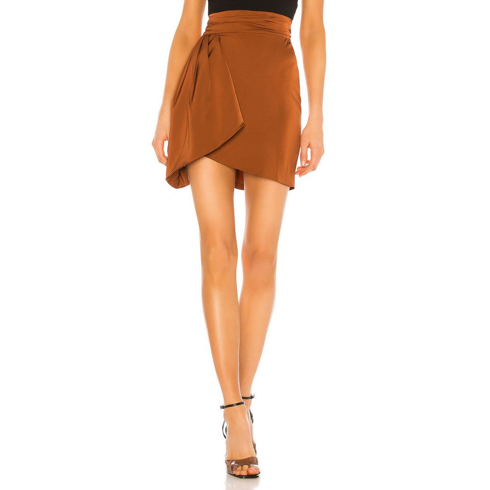 エヌビーディー NBD レディース ミニスカート スカート【Circe Mini Skirt】Copper