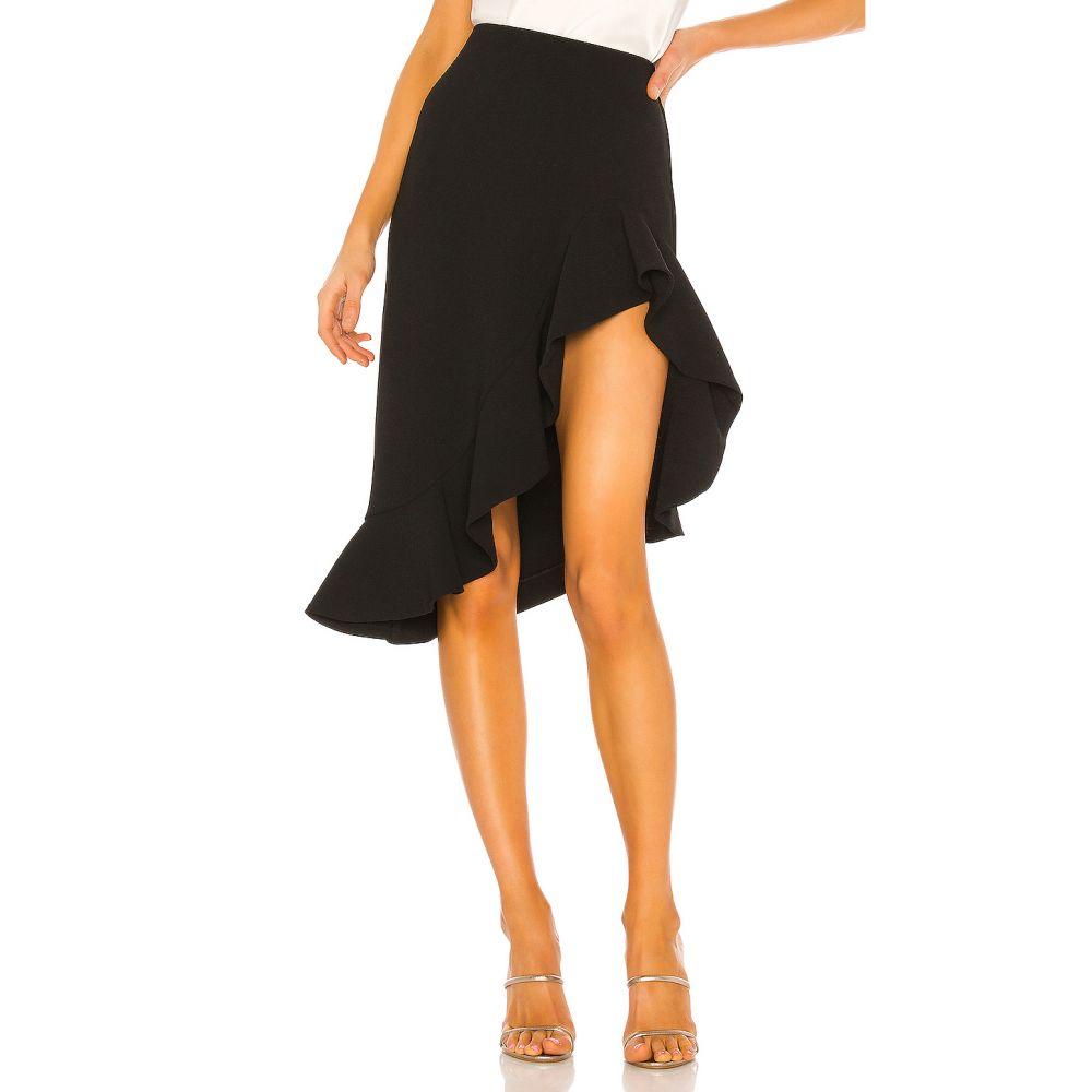 エヌビーディー NBD レディース ひざ丈スカート スカート【Chateau Midi Skirt】Black