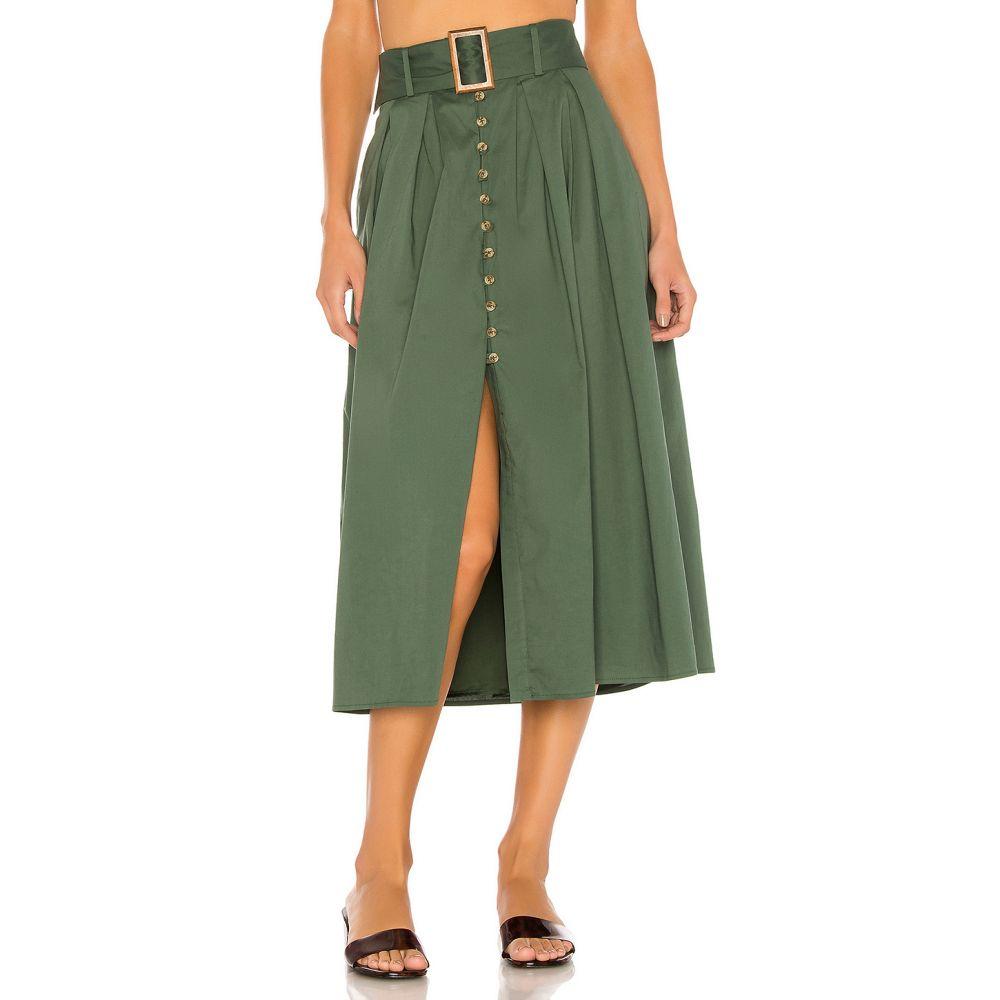 ソング オブ スタイル Song of Style レディース ひざ丈スカート スカート【Mina Midi Skirt】Juniper Green