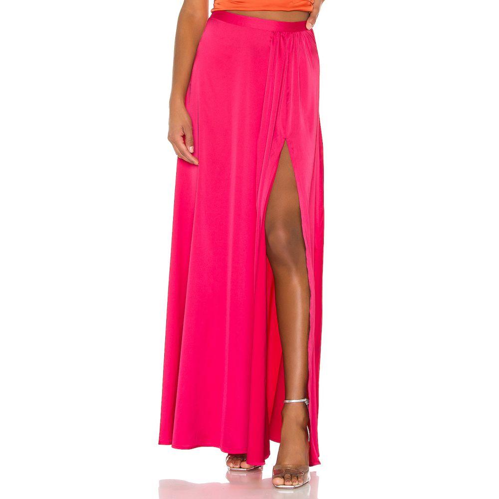 エヌビーディー NBD レディース ロング・マキシ丈スカート スカート【Page Long Skirt】Bright Pink