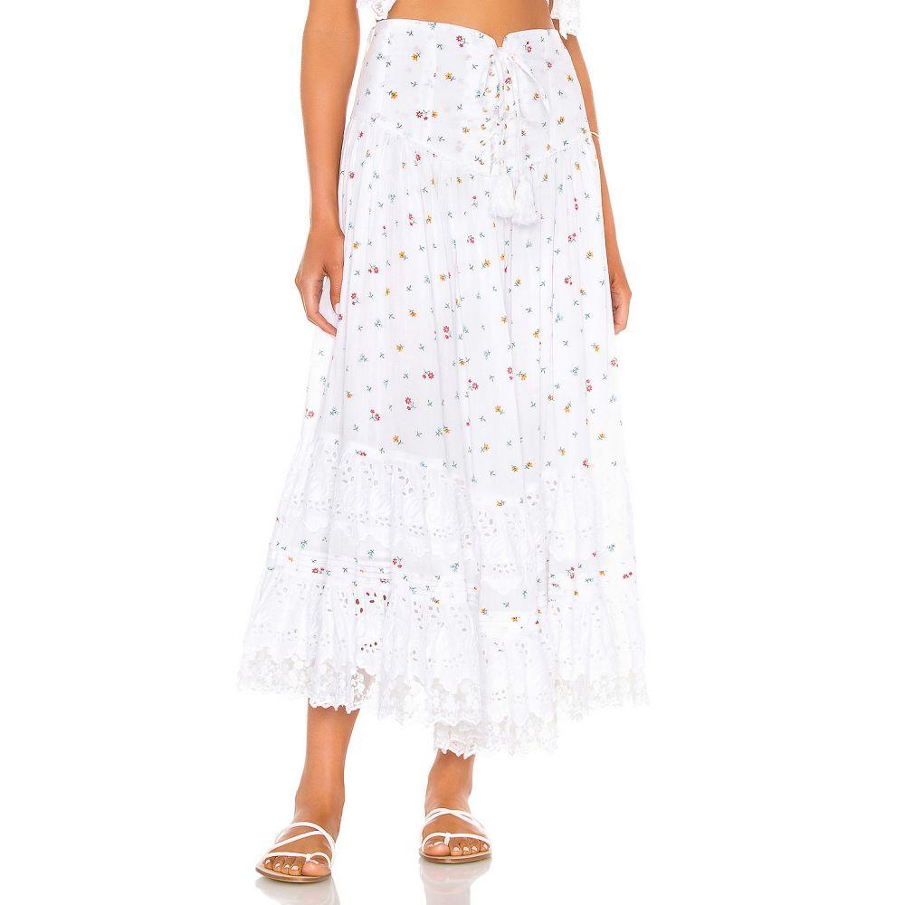 プレイスナショナル Place Nationale レディース ロング・マキシ丈スカート スカート【L'Etage Floral Print Tiered Maxi Skirt】Floral Cotton