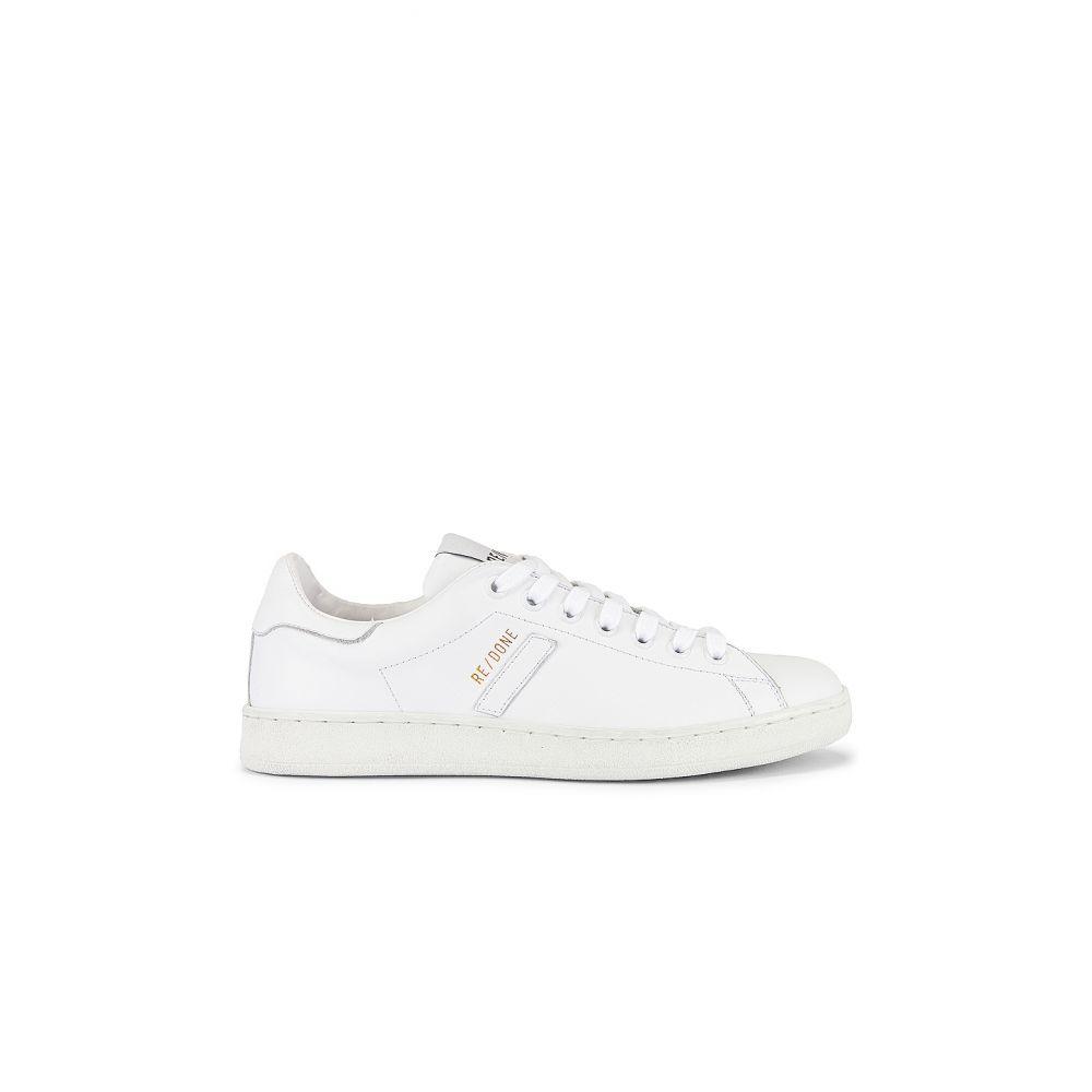 リダン RE/DONE レディース テニス シューズ・靴【70s Tennis Shoe】White