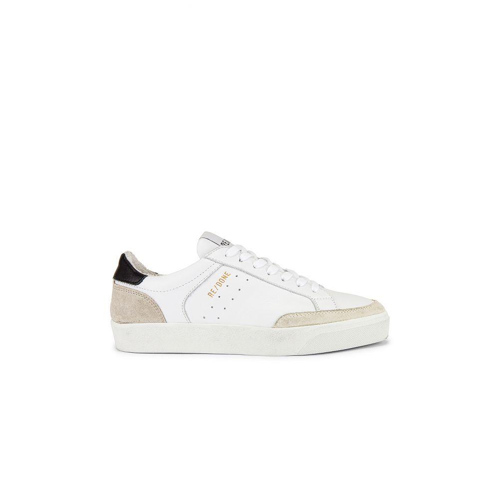 リダン RE/DONE レディース スケートボード シューズ・靴【90s Skate Shoe】White