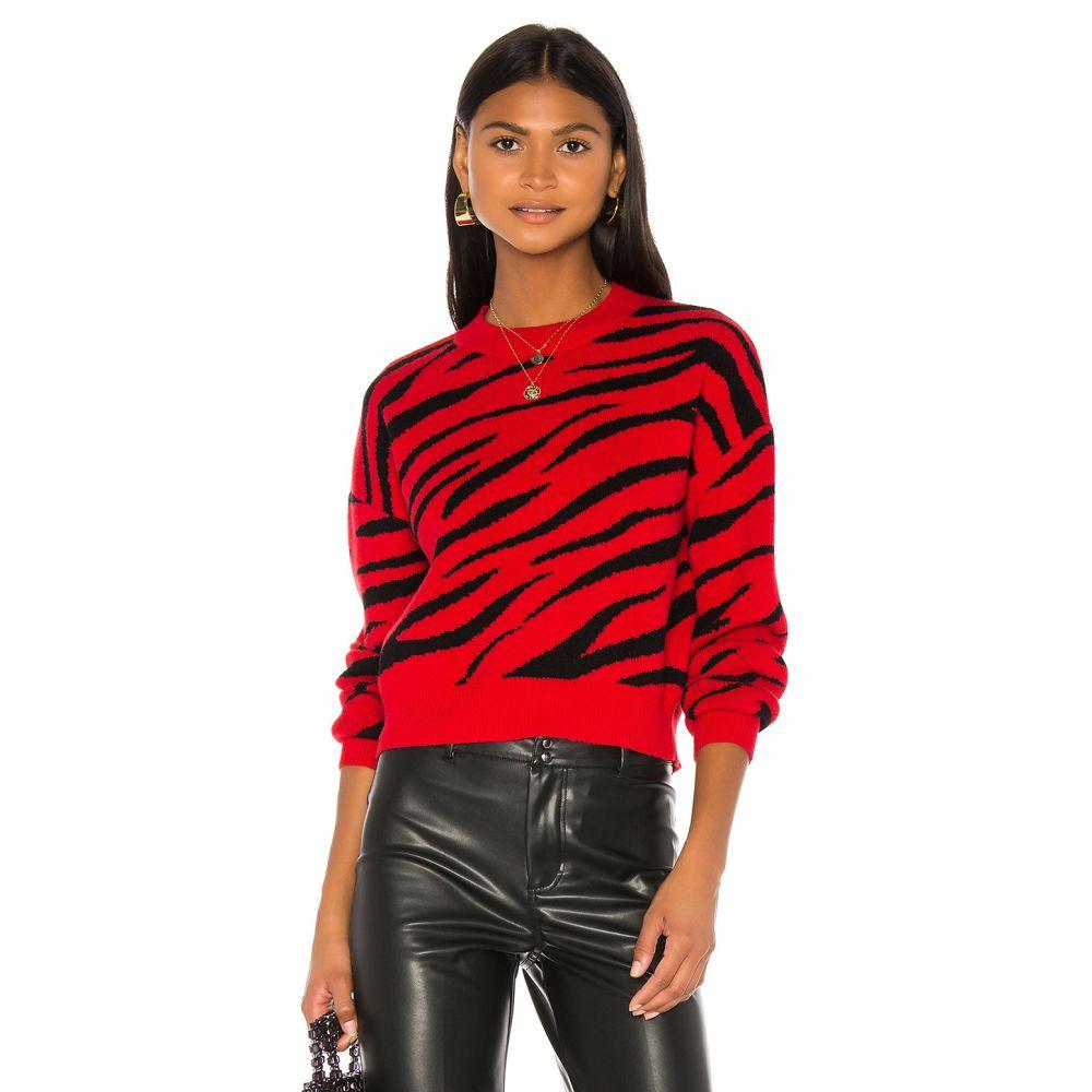 バルドー Bardot レディース ニット・セーター トップス【Red Zebra Knit】Red Zebra