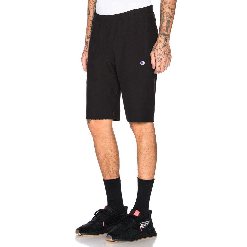 チャンピオン Champion Reverse Weave メンズ ショートパンツ ボトムス・パンツ【Champion Bermuda Shorts】Black
