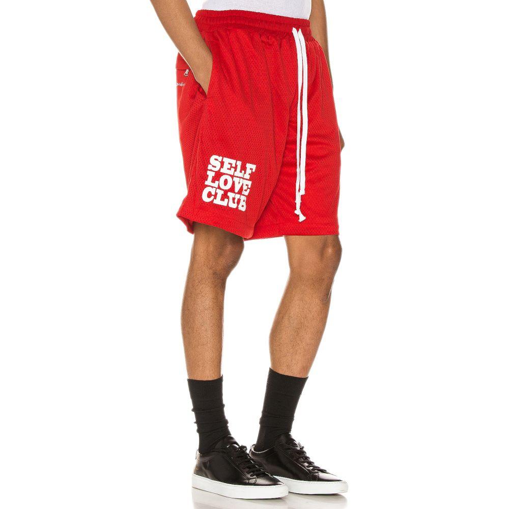 リフテッド アンカーズ Lifted Anchors メンズ バスケットボール ボトムス・パンツ【SLC Basketball Shorts】Red