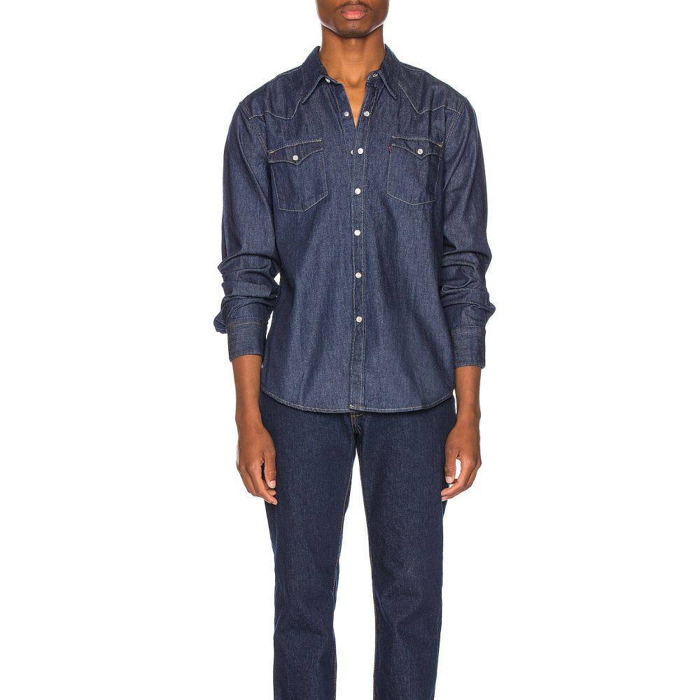 リーバイス LEVI'S Premium メンズ シャツ トップス【Barstow Western Shirt】Red Cast Rinse