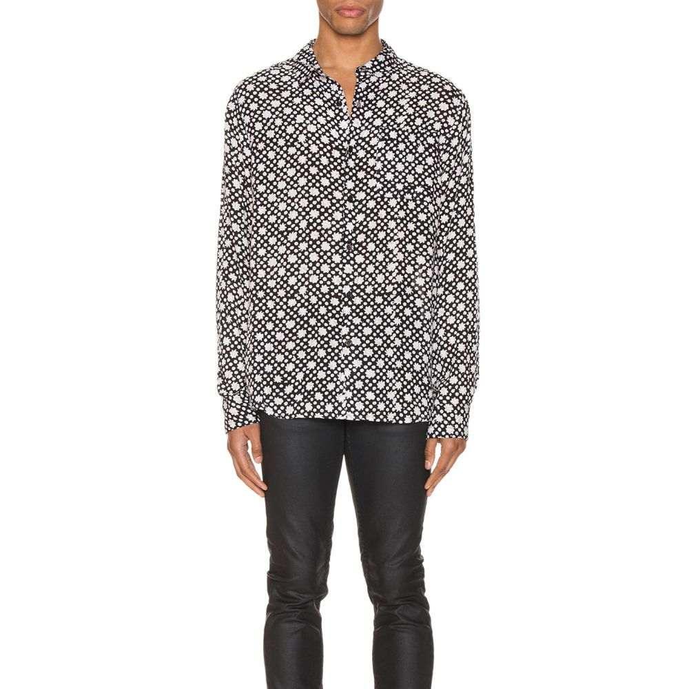 ローラズ ROLLA'S メンズ シャツ トップス【Beach Boy Long Sleeve Shirt】Black