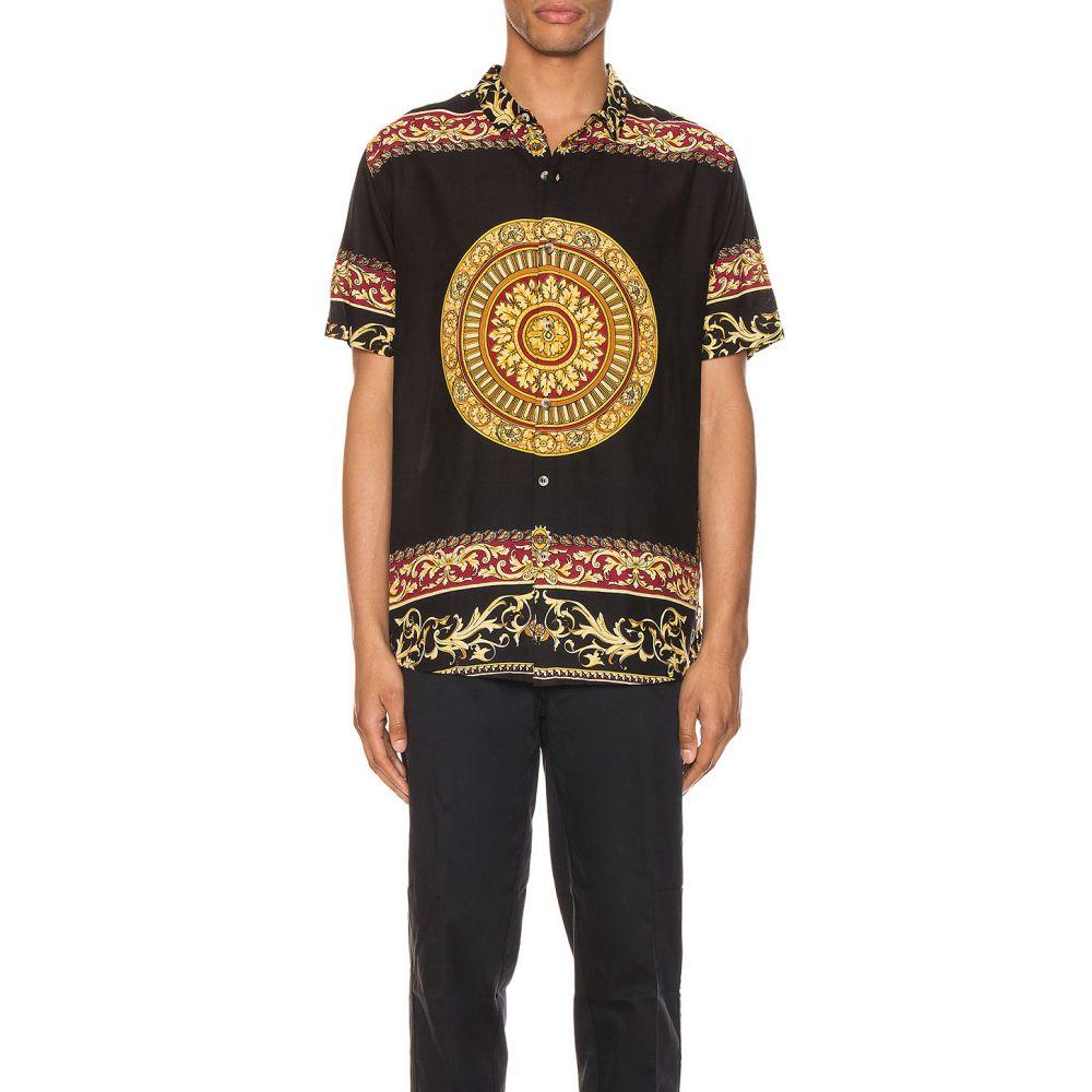 ローラズ ROLLA'S メンズ シャツ トップス【Bon Shirt】Black/Gold