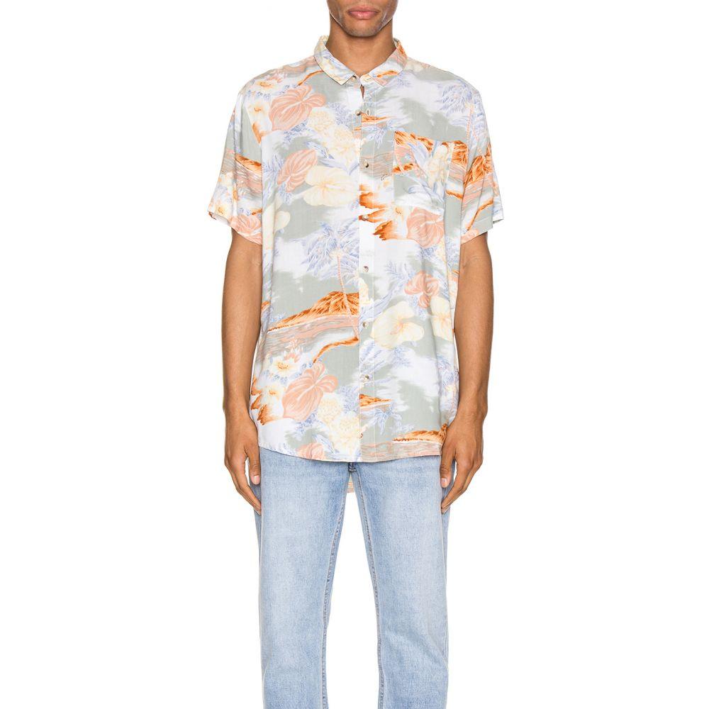 ローラズ ROLLA'S メンズ シャツ トップス【Bon Bleach Island Shirt】Sun Fade