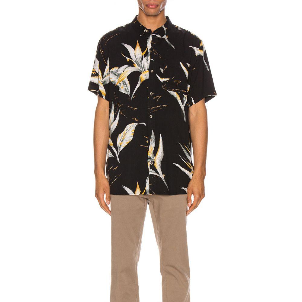 ローラズ ROLLA'S メンズ シャツ トップス【Bon Surfers Paradise Shirt】Midnight Paradies