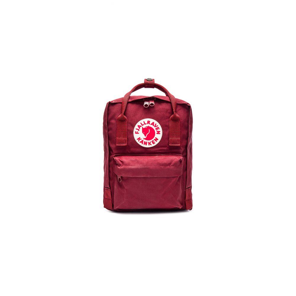 フェールラーベン Fjallraven レディース バックパック・リュック バッグ【Kanken Mini】Ox Red