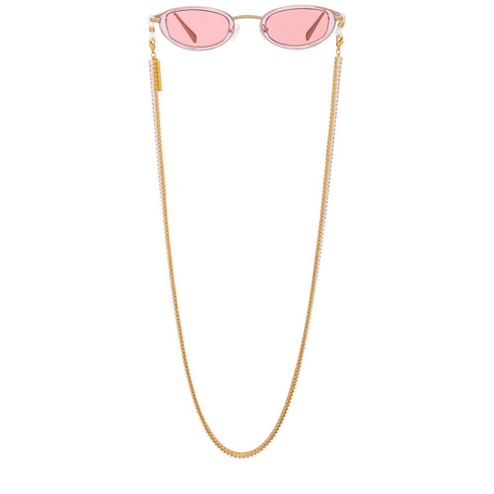 マイマイマイ my my my レディース ファッション小物 【Tony Sunglass Chain】Clear/Gold