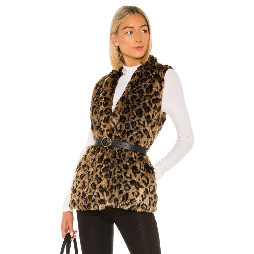 ベルベット グラハム&スペンサー Velvet by Graham & Spencer レディース ベスト・ジレ トップス【Stephie Faux Fur Vest】Multi