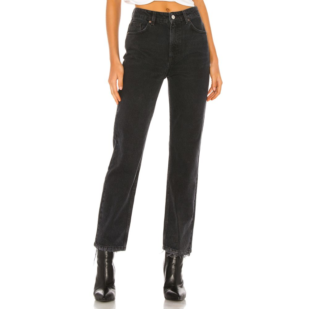 フリーピープル Free People レディース ジーンズ・デニム ボトムス・パンツ【Dakota Straight Leg Jean】Black