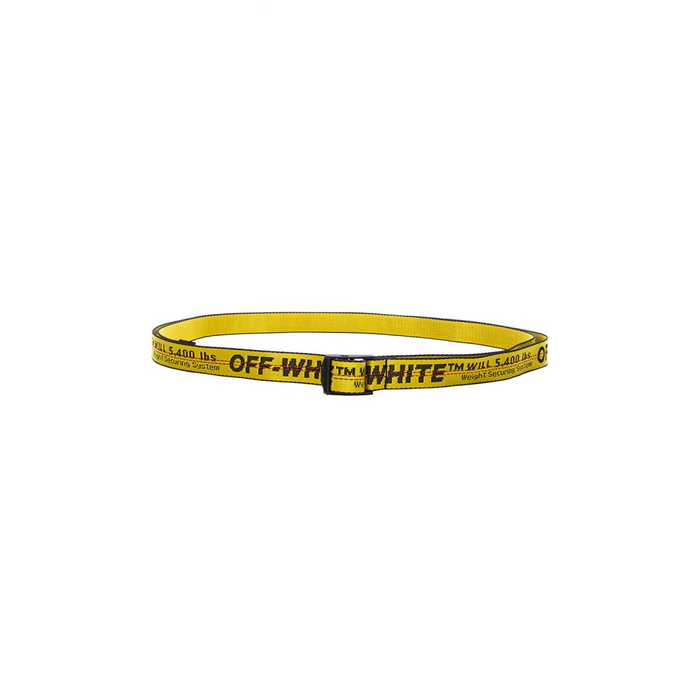 オフホワイト OFF-WHITE レディース ベルト 【Mini Industrial Belt】Yellow/Black