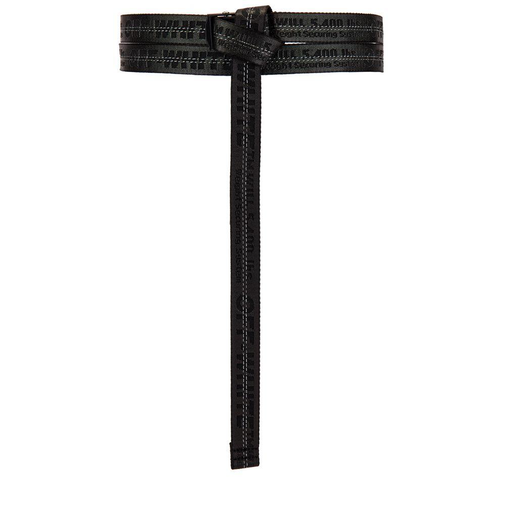 オフホワイト OFF-WHITE レディース ベルト 【Mini Industrial Belt】Black/Black