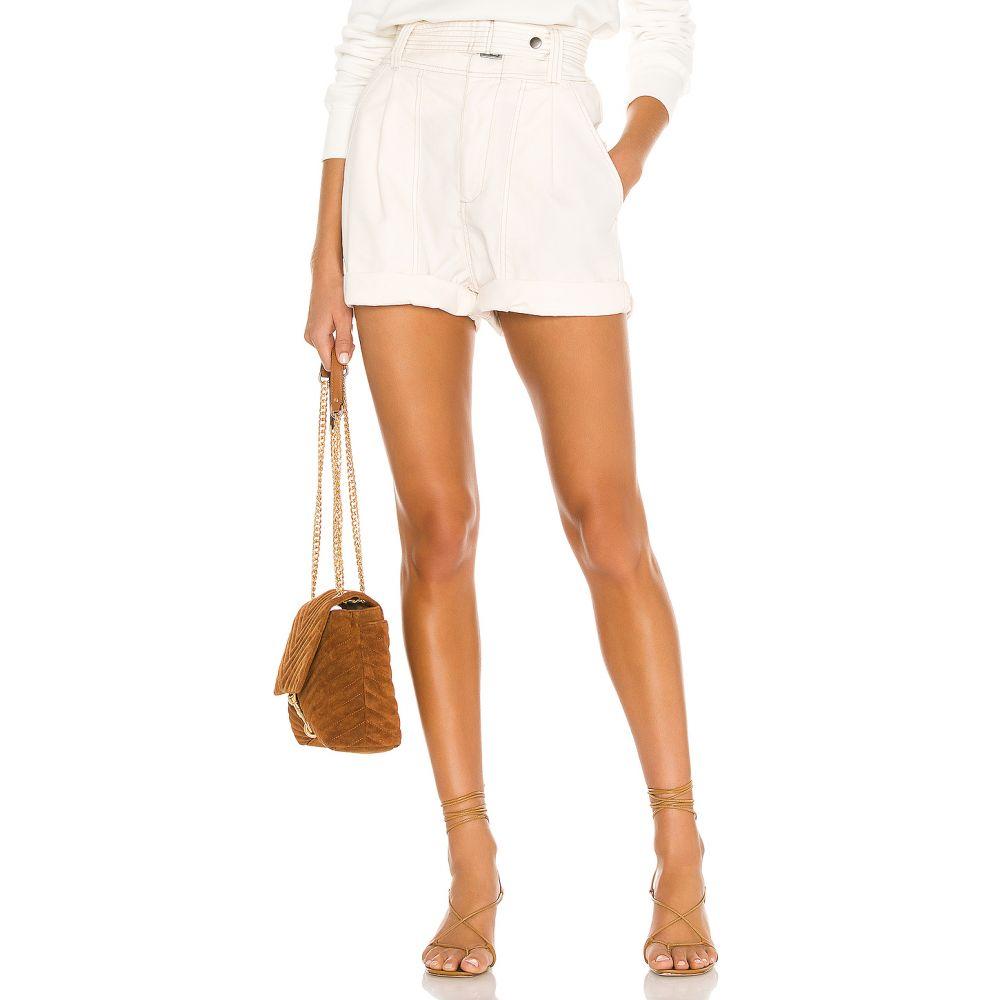 ピストーラ PISTOLA レディース ショートパンツ ボトムス・パンツ【X REVOLVE Arita Paperbag Short】Antique White