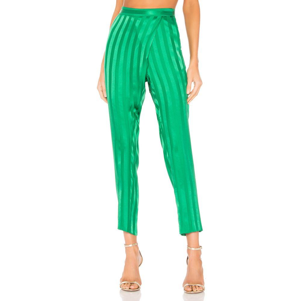 ミシェル メイソン Michelle Mason レディース ボトムス・パンツ 【Wrap Pant】Green